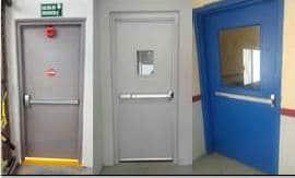 Puertas de salida de emergencia